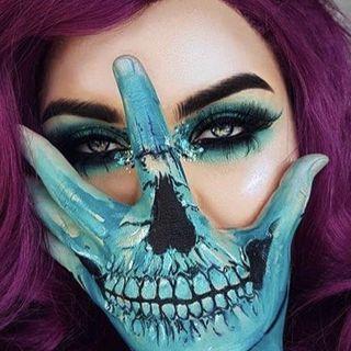 Halloween make up inspo