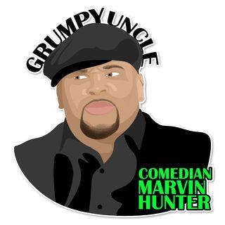 Comedian Marvin Hunter