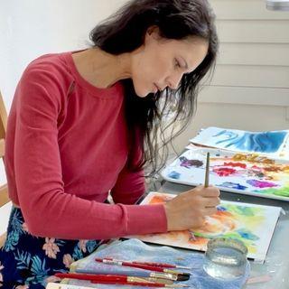 MARIA RACZYNSKA 👩🏻 Watercolors