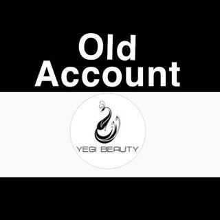 Old Acct. Follow @yegibeauty