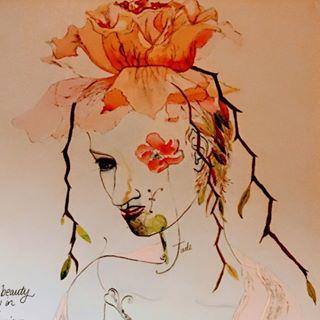 original drawings by Leila