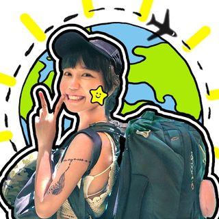#肉比頭 #帶你背包環遊世界✈️ #摩托車跨國旅行情侶