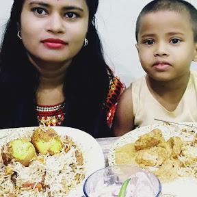 Eat Food With Rasmi & Baby