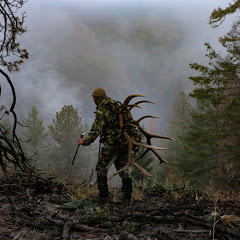 hard working hunter