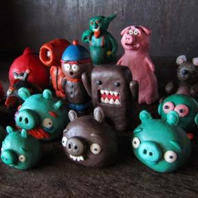 Plasticine Figurines