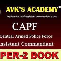 AVK'S Academy Assistant Commandant Coaching