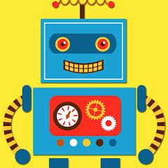 Lustiger Roboter