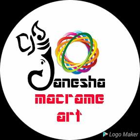 Ganesha macrame art & craft