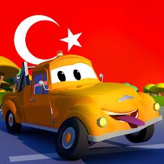 Çekici Tom araba şehrinde