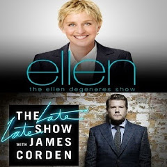 TheEllenShow & The Late Late Show with James Corden