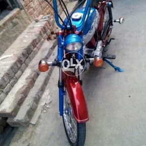 Altaf Bike modified