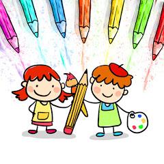 描く方法 子供のための色 - Japanese