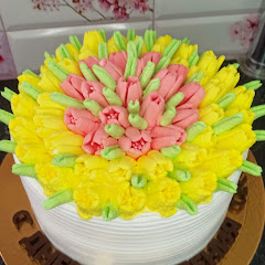 Как украсить торт