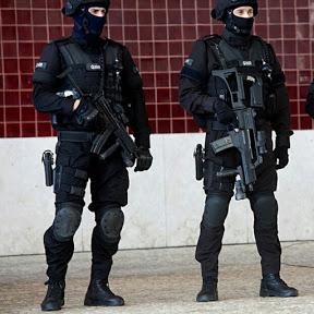 Policia en accion
