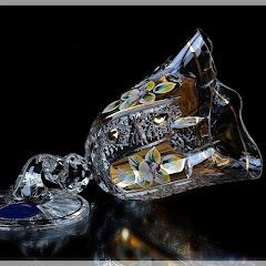 Bohemia Crystal hand made in Czech Republic!