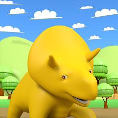 恐竜のディノ | お子様、幼児向け教育アニメ