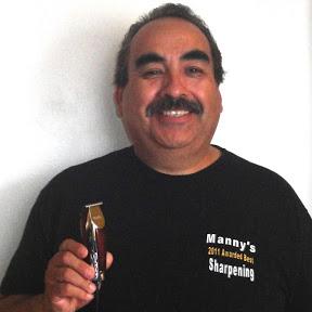 Manny Sharpening