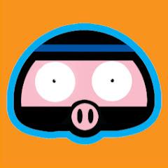 Manx Ninja Pig