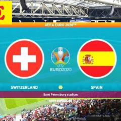 EURO 2020 SWITZERLAND vs SPAIN