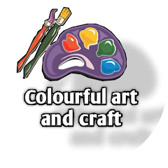 Colourful art and craft