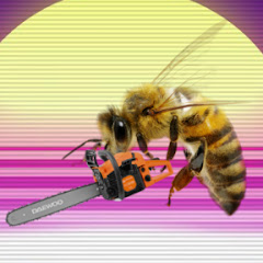 bees with chainsaws