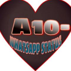 A10- whatsapp status