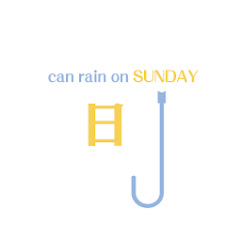 星期日可以下雨weakcan
