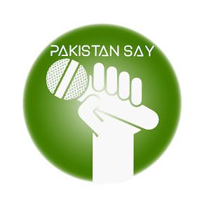 Pakistan-Say