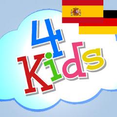 4Kids Bilingual Deutsch-Spanisch Kinder Lernvideo