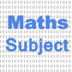Maths Subject