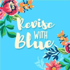 Revise with Blue.
