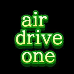 air drive one/エアー ドライブ ワン