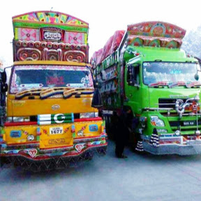 Trucks quotation decoration pakistan