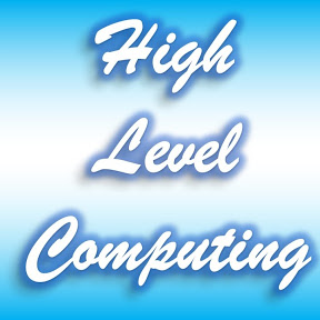 High Level Computing