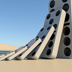 Domino effect simulation