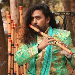 Flutist Bishnu Dev