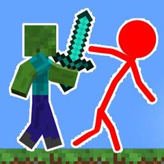 Sticktoon - Minecraft vs Stickman
