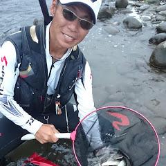 平蔵の川釣り