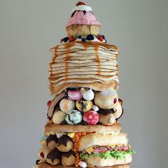 Торты - украшение тортов кремом