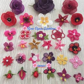 İğne Oyası Çiçekleri ve Boncuk İşleri İgoyci