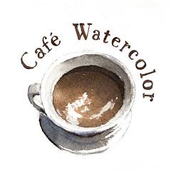 水彩咖啡廳