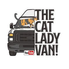 The cat lady VAN