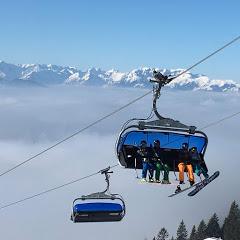 Лыжи Альпы