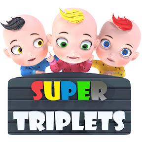 Super Triplets - Nursery Rhymes