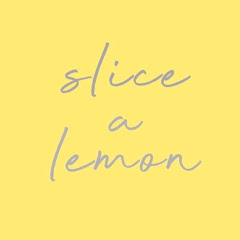 slice a lemon