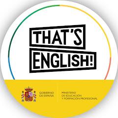 That's English!