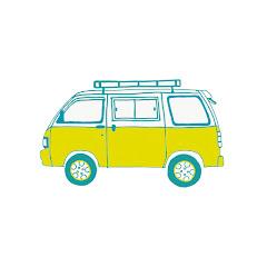 Mini yellow van
